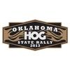 OK Oklahoma State HOG Motorcycle Rally Flyer Logo