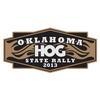 OK Oklahoma State HOG Motorcycle Rally Flyer Logo