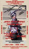 THUNDER ON THE LAKESHORE MOTORCYCLE SHOW in MICHIGAN Flyer Poster