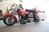 Picture of a Red 1967 Harley Davidson FLH Shovelhead