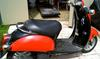 2005 Honda Metropolitian Scooter in red and black
