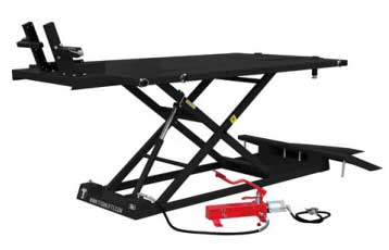 BLACK TITAN MOTORCYCLE LIFT TABLE (example only)