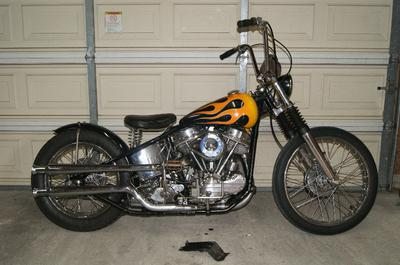 Titled 1956 Harley Panhead FLH for Sale