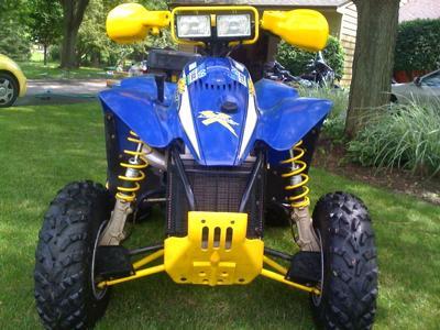 Trade your bike for these Polaris ATV s