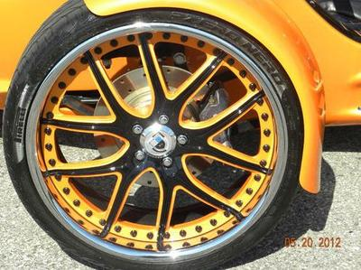 Orange 2010 Campagna T-Rex T Rex Trike (this photo is for example only; please contact seller for pics of the actual motorcycle for sale in this classified)