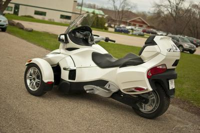used 2011 can am spyder rt se5 for sale. Black Bedroom Furniture Sets. Home Design Ideas