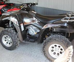 2012 Kawasaki Brute Force ATV w Black Paint Color