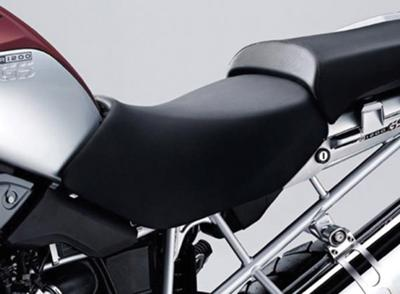 Black BMW R1200GS Driver's Motorcycle Seat (NOT the one for sale)