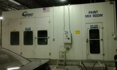 used garmat paint spray booth for sale