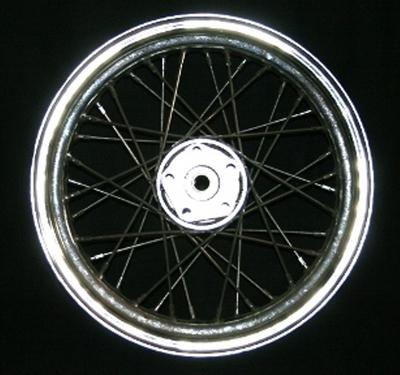 Harley Davidson Chrome Spoke Wheel