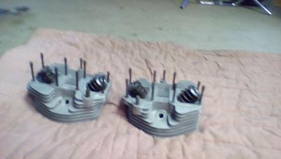 Shovelhead big bore flowed cylinder heads for sale by owner