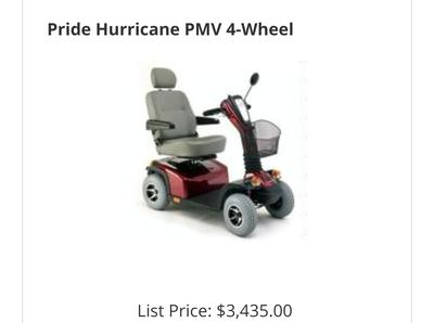 Used Heavy Duty Electric Mobility Scooter for Sale