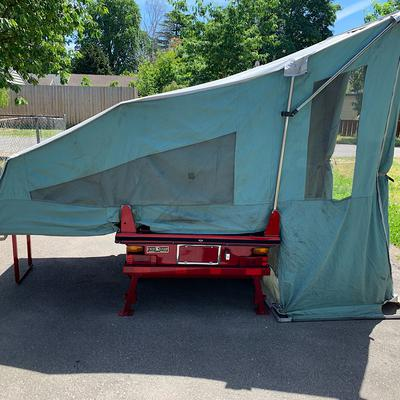 Used Kwik Camp Pop Up Motorcycle Camper for Sale