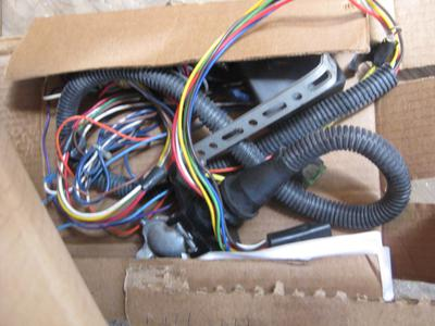 Kriss STC-5 Small Trailer interconnect adapter wiring harness