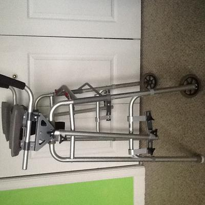 Used Pronto Scooter, Walker and Cane Package for Sale by owner