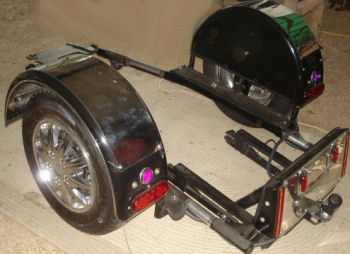 Voyager Trike Kit will fit VTX 1300 R, C, or S