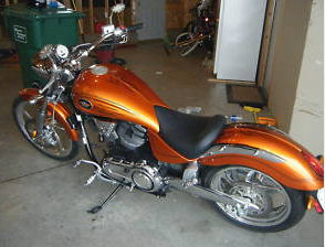 2007 victory vegas custom paint pictures