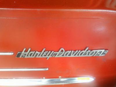 Vintage Harley Davidson Sidecar
