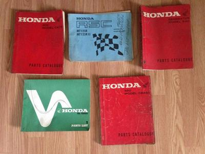 Vintage Honda NOS Parts for sale by owner