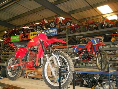 Old Used Vintage Dirt Bike, Street Motorcycle Parts for sale by owner