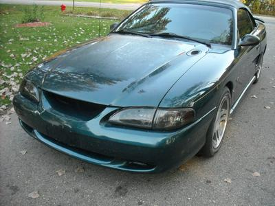 Fully loaded 1997 Ford Mustang Pro Street