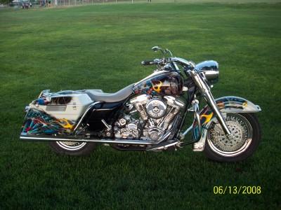 X 1998 HARLEY DAVIDSON COP MOTORCYCLE
