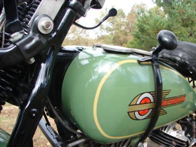1936 Flathead 74  1936 Harley VLD Sport .Restored