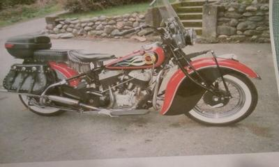 1940 Restored Indian Chief