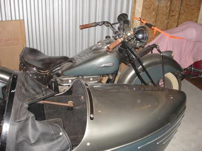 1941 Indian Four with SideCar