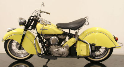 1948 Indian Chief Motorcycle Picture