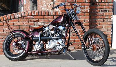 1950 HARLEY DAVIDSON PANHEAD FL w bone stock 74
