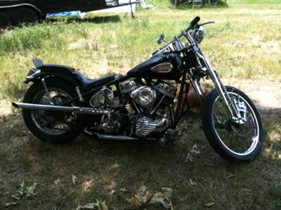 1950 Vintage Harley Davidson Panhead w Paco Rigid Motorcycle Frame (this photo is for example only; please contact seller for pics of the actual classic vintage motorcycle for sale in this classified)