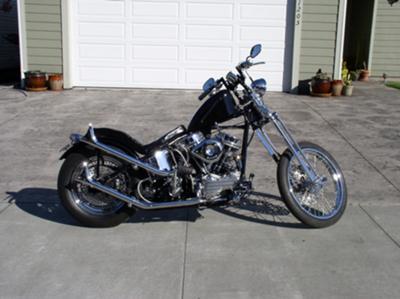 1954 Harley Davidson Panhead Bobber - Brand-New Restoration