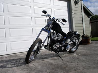 1954 Harley Davidson Panhead Bobber