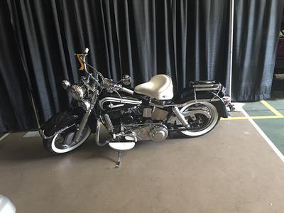 Vintage 1954 Harley Davidson Panhead motorcycle