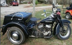 1954 Harley Davidson HD Servicar Trike