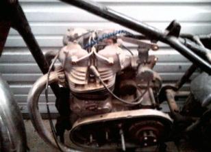 1956 INDIAN TOMAHAWK MOTORCYCLE MOTOR