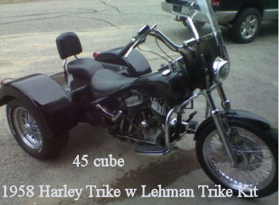 1958 Harley DavidsonTrike
