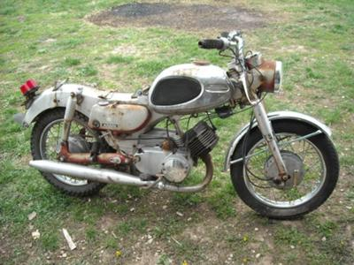 Vintage 1960's Yamaha 125 Motorcycle