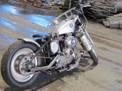 1961 Harley Davidson Sportster XLCH 883 BOBBER - IT'S a BAD little mf