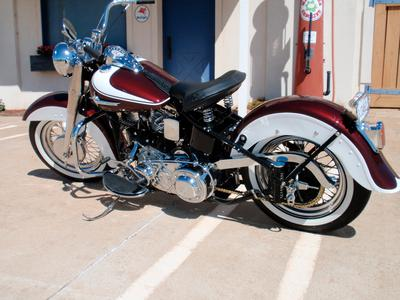 1962 FLH Harley Davidson PanHead Motorcycle