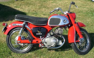 1964 Honda CA95 CA 95 Vintage