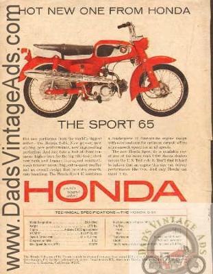 1965? Honda S65 65cc trailbike dirt bike dirtbike