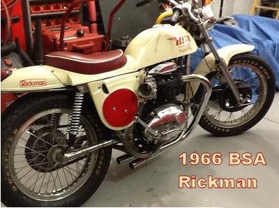 1966 BSA Victor Rickman 750