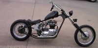 1968 Triumph bonneville motorcycle 650 hard tail classic chopper