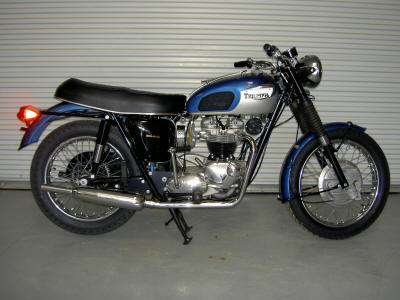 1968 Triumph TR6 Tiger (not the one for sale in this ad an example