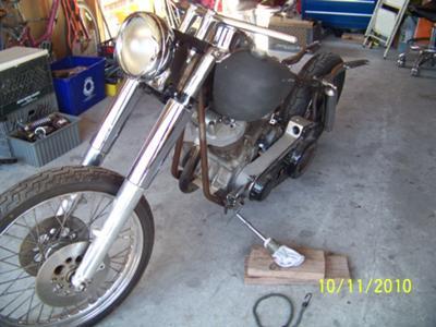 1969 Harley Davidson Electra Glide FLH Slab Side Shovel Basket Case