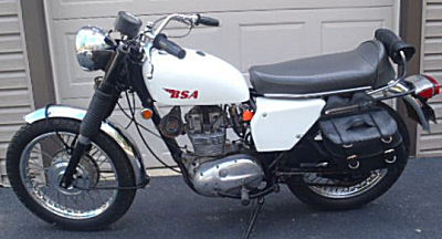 1970 BSA motorcycle