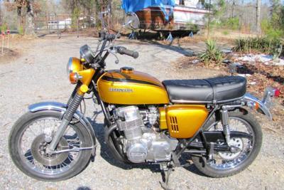 OEM Candy Gold Paint Color 1970 Honda CB750 KO  Built Nov 1969