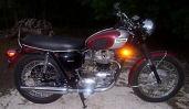 1970 Triumph bonneville motorcycle